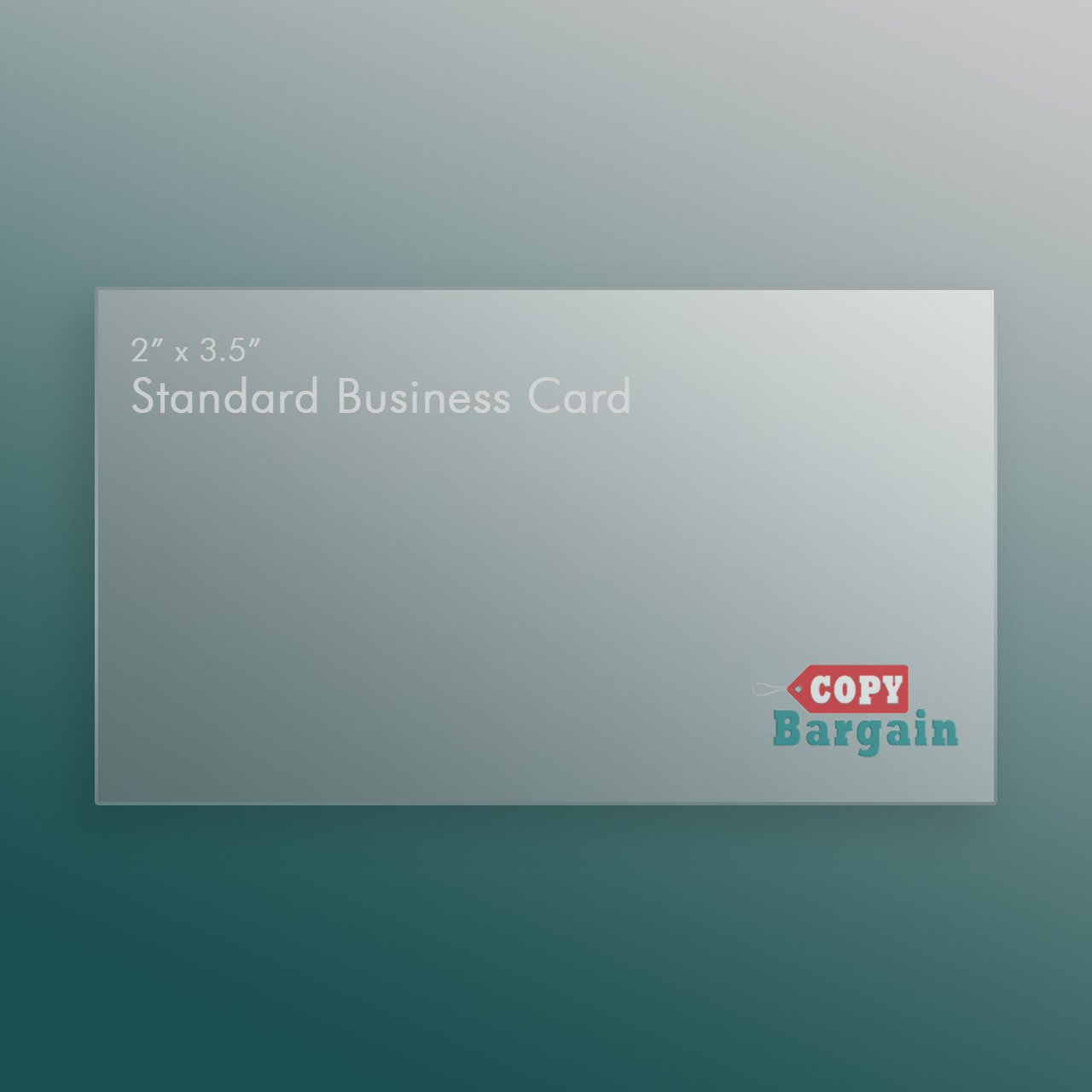 standard business card printing - Standard Business Card