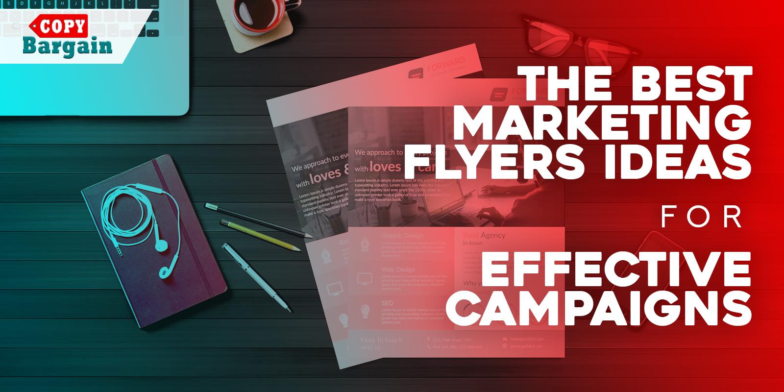 marketing flyers ideas